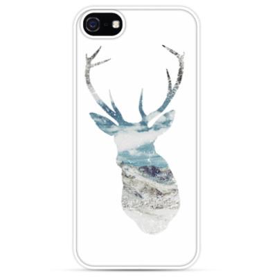 Чехол для iPhone 'Морской олень'