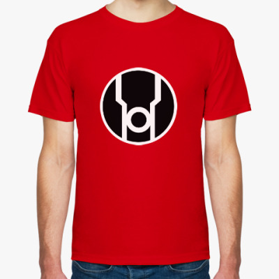 Футболка Корпус Красных Фонарей / Red Lantern Corps
