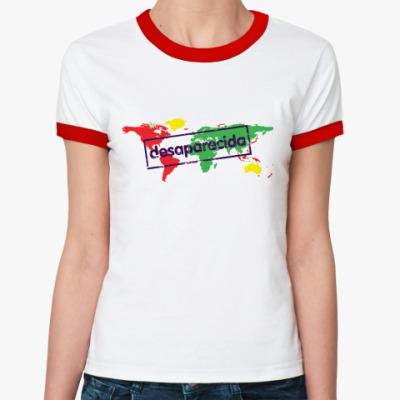 Женская футболка Ringer-T  Desaparecida