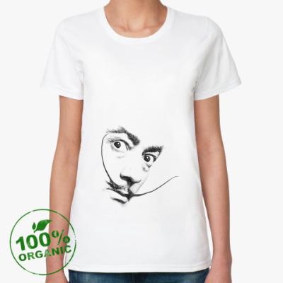 Женская футболка из органик-хлопка Усы