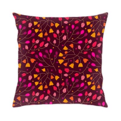 Подушка Цветочный орнамент