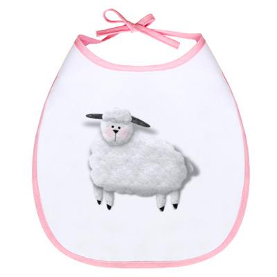 "Слюнявчик Слюнявчик ""Sheep"""