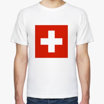 Футболка  Швейцария