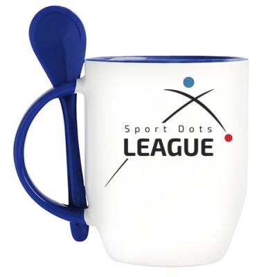 Кружка с ложкой Логотип SDL