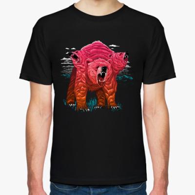 Футболка Трёхголовый Медведь