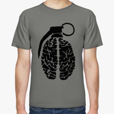 Футболка мозговая граната