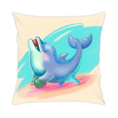 Подушка Дельфин - песик