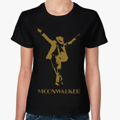 Женская футболка Moonwalker