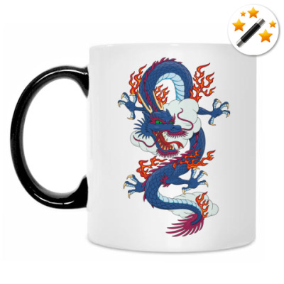 Кружка-хамелеон Дракон