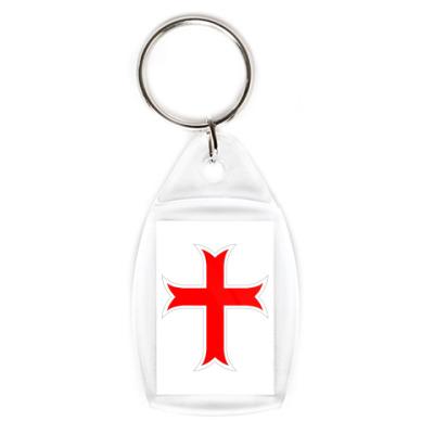 Брелок Крест свободы с девизом