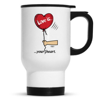 Кружка-термос Love is...