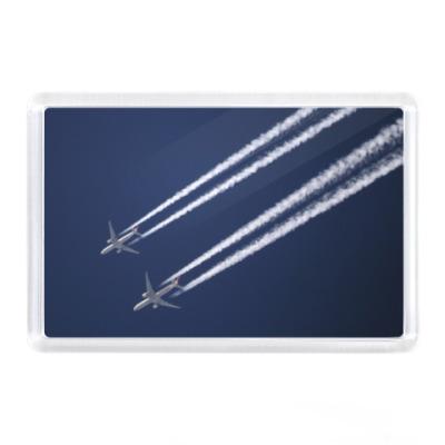 Магнит Самолеты в небе