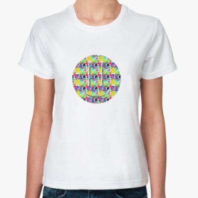 Классическая футболка Smile psihodelik