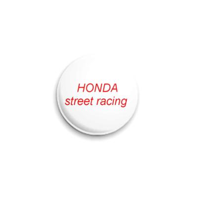 Значок 25мм Auto-Honda