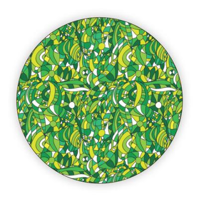 Костер (подставка под кружку) 'Зеленое лето'