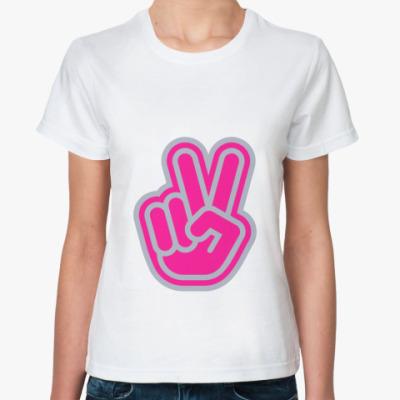 Классическая футболка We Shall Overcome