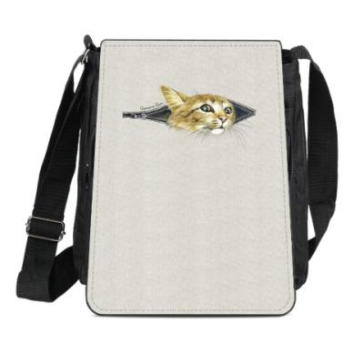 Сумка-планшет Внутренний Кот
