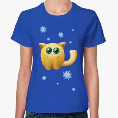 Женская футболка Камышовый гипнокот