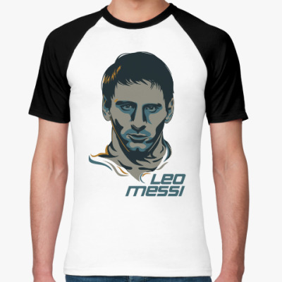Футболка реглан Leo Messi