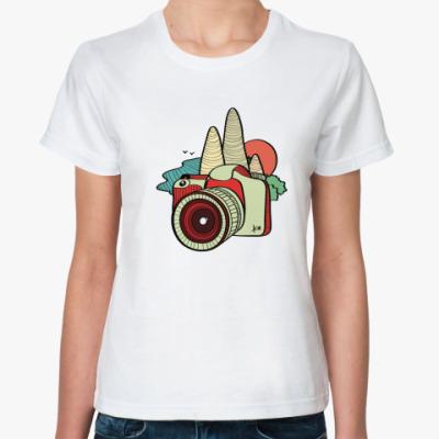 Классическая футболка Фото-путешествия