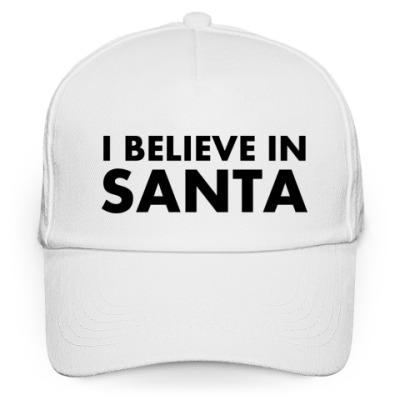 Кепка бейсболка I believe in Santa