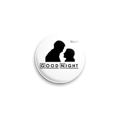 Значок 25мм Huddy Good Night