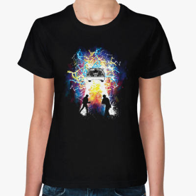 Женская футболка Путешественники во Времени
