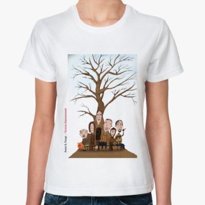 Классическая футболка  Тополь (жен)