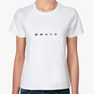 Классическая футболка смена-8м символы