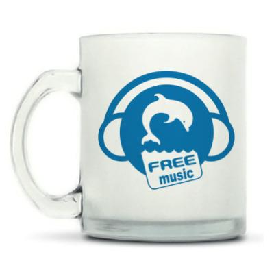Кружка матовая Free Music
