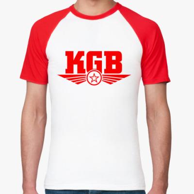 Футболка реглан КГБ