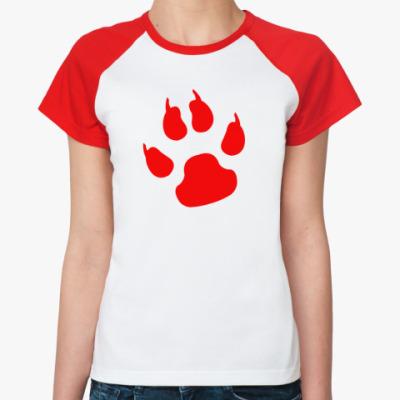 Женская футболка реглан Zver