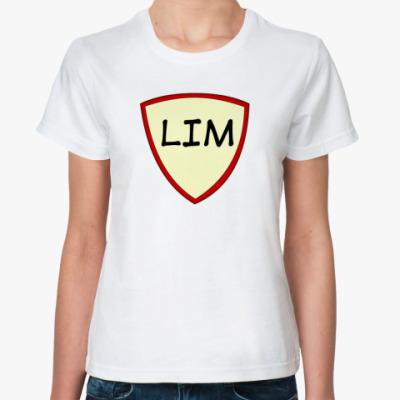Классическая футболка Человек-Предел