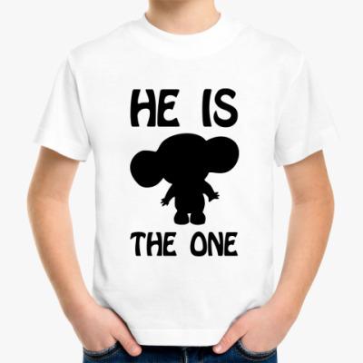 Детская футболка He is One