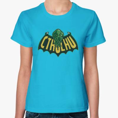 Женская футболка Ктулху