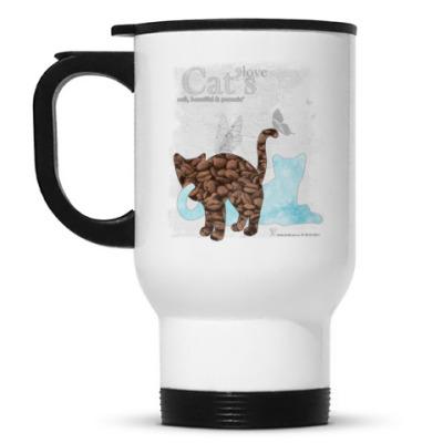 Кружка-термос Кофе и мята