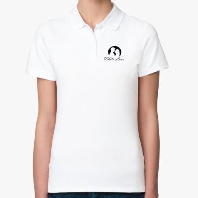 Женская рубашка поло White Love