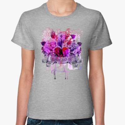 Женская футболка Навеки