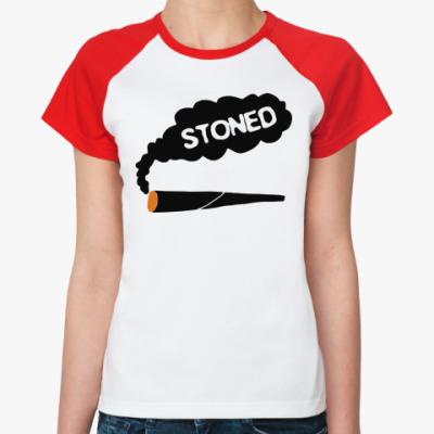 Женская футболка реглан stoned