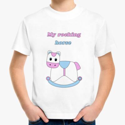 Детская футболка My rocking horse