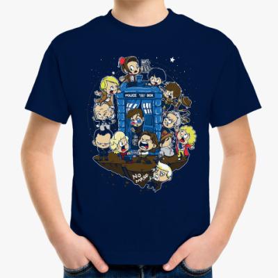 Детская футболка Доктор Кто