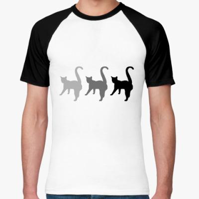 Футболка реглан Три кота