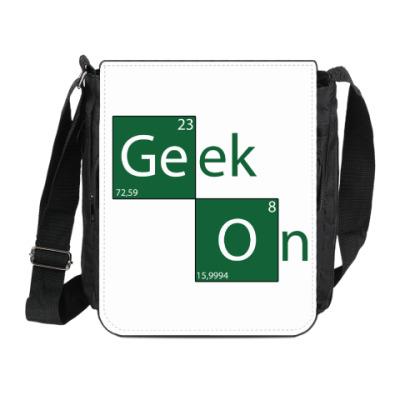 Сумка на плечо (мини-планшет) Geek On