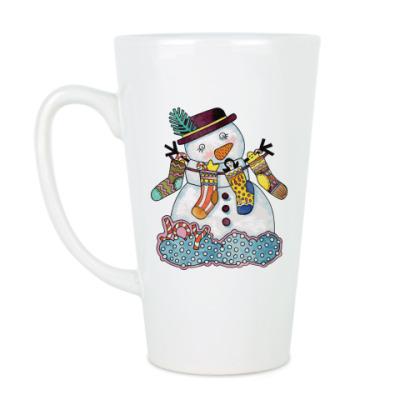 Чашка Латте Happy New Year