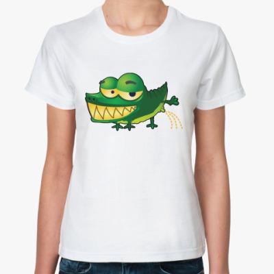 Классическая футболка Croco Pee