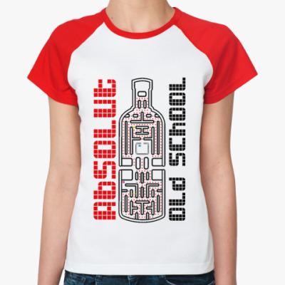Женская футболка реглан Absolut  Ж()
