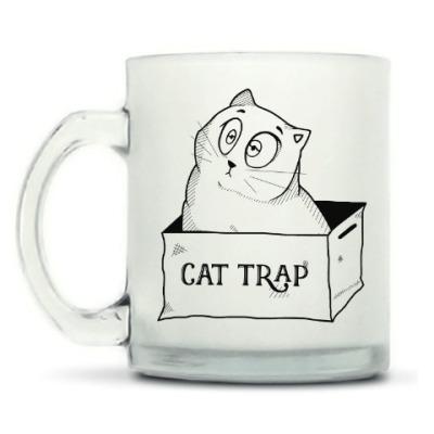 Кружка матовая Ловушка для кота