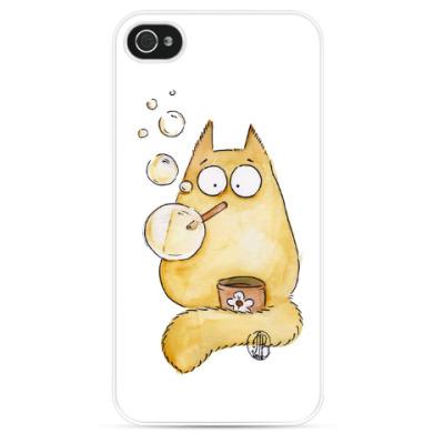 Чехол для iPhone Котик
