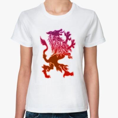 Классическая футболка  'Лев'
