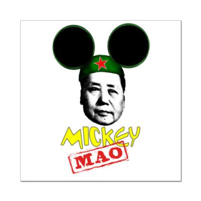 Наклейка (стикер) Микки Мао